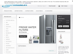 Online sale of efficient fridge water filters